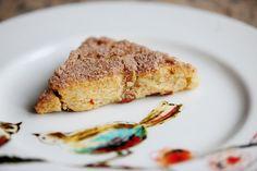 Sweet Cinnamon scones taste just like cinnamon pop tarts!