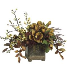 Dendrobium/ Magnolia Silk Orchid Arrangment ARWF1160