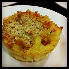 Macaroni and Cheese Cupcakes.