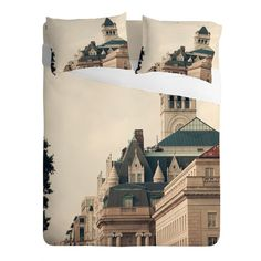 Catherine McDonald American Royalty Sheet Set | DENY Designs. #castle, #queen, #princess, #bedding, #bedroom, #homedecor, #princessdecor
