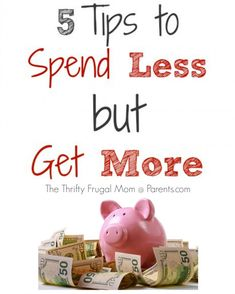 5 Tips to Spend Less but Get More-- great tips on how an average sort of shopper shaved $250 off her grocery budget in just 2 months!