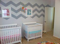 Boy + Girl Twins Nursery