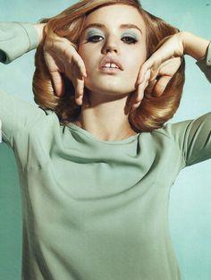 model, eye makeup, editorial, british, colors