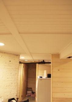 "Basement ""drop"" ceiling idea!"