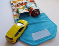 Car wallet for little boys - great idea! have to make one for Kash