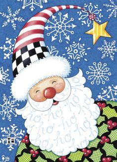 I love this Mary Engelbreit Santa card