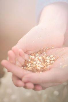 glitter...