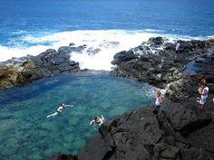 Queens Bath, Kauai by AL Gator, via Flickr
