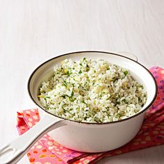 Gremolata Rice: Just add a little parsley, lemon zest and garlic for a ton of flavor.