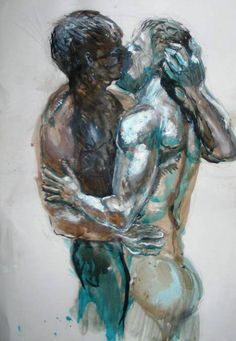 The Kiss, by Eric Windhorst