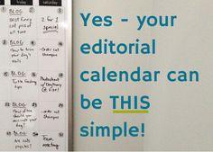 Easy Editorial Calendar