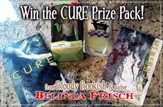 Win one of 10 e-copies of Cure by Belinda Frisch & be entered into the Grand Prize Giveaway for sweet zombie swag! http://bloodybookish.com/2013/04/26/win-a-copy-of-cure-by-belinda-frisch/