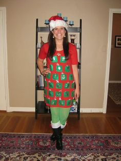 Ugly xmas sweaters on pinterest 155 pins for Tacky t shirt ideas