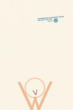 #Volkswagen BlueMotion #print #ad