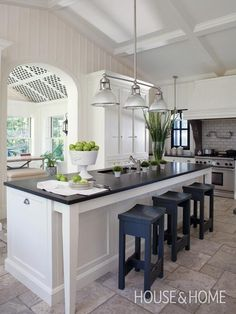 Stately Country Kitchen | House & Home