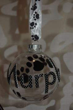 Pet Ornament by JLJInspirations on Etsy, $15.00
