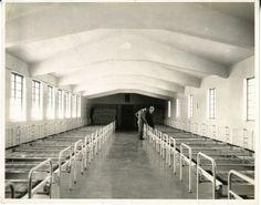 Dormitory in South Quad, circa 1936