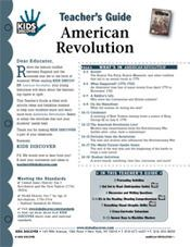 FREE 12-page Downloadable Lesson Plan for Kids Discover American Revolution
