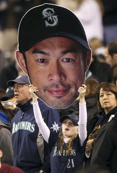 Apparently she's a fan of Ichiro. :D) Mariners.