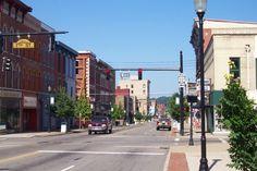 Downtown Zanesville Ohio