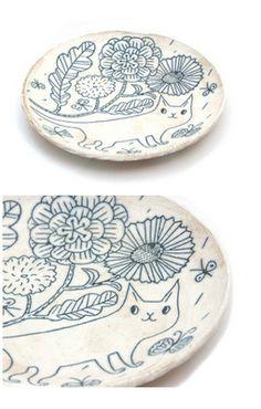 Love love love the ceramics by Makoto Kagoshima!