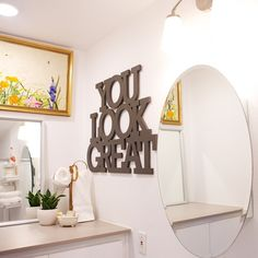 I definitely could use this sign in my bathroom