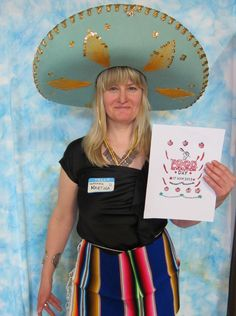 Getting in the spirit for a Mexican fiesta in Toronto for FRD 2013.  photo credit: Linda Matarasso