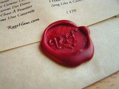 Wax seal diy- for packaging design