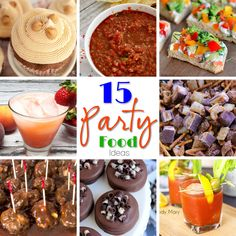 15 Party Food Ideas