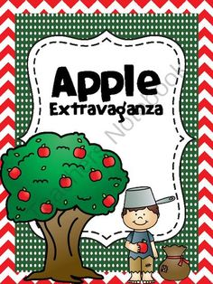 Apple Extravaganza from katanderson4 on TeachersNotebook.com -  (18 pages)  - Apple Theme Unit
