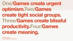 What games teach us about motivating people...