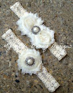 Bridal Lace Garter/ Ivory Garter/ Toss Garter/ Ivory/ Wedding/ Vintage Inspired. $26.00, via Etsy.