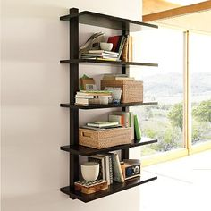 Wall-Mounted Bookcase #WestElm