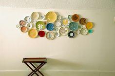 Pinterest has officially become dangerous if I am pinning plate wall art.