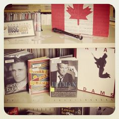 Canadian Music Week - Canadian Music Book Display at the Peter Gzowski Branch, Georgina Public LIbraries.