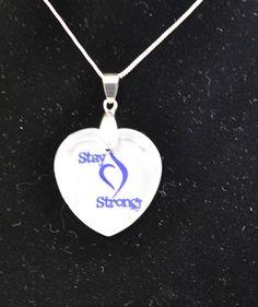 eating disorder awareness necklace custom made