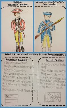 comparing British and American Revolutionary War soldiers