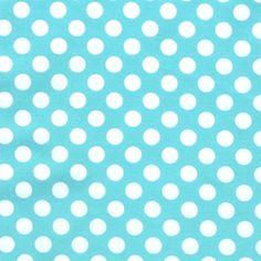 Ocean Ta Dot - Light Blue & White Polka Dots
