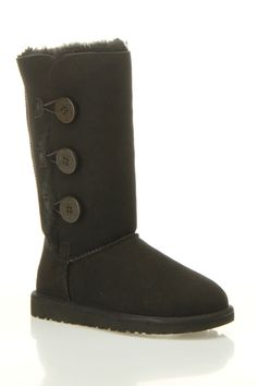 Ugg Bailey Button Boot in Black - I love button Uggs!