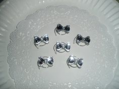 Perfect #hairaccessory for #flowergirls  Beautiful  Sparkling Clear Acrylic Bow Hair Swirls by hairswirls1, $14.99