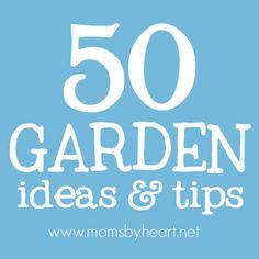50 garden tips