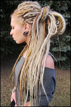 LOVE DREADS!  gorgeous synthetic #dreads falls (from www.facebook.com/filthy.dreads)