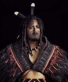 Maori in New Zealand. From 'Before They Pass Away', photos by Jimmy Nelson.