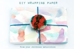 petit à petit and family: DIY: Wrapping Paper