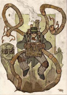 Doctor Octopus by Denis Medri