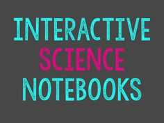 Interactive Science Notebooks {The Science Penguin}