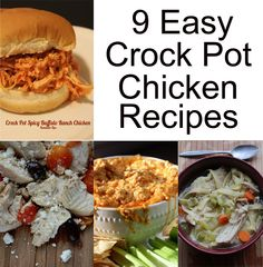 9 Easy Chicken Crock Pot Recipes