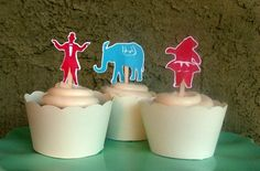 retro cake toppers