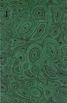 Malachite wallpaper from Cole & Son
