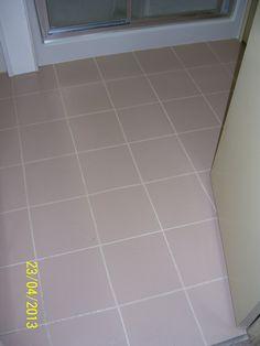 Painting linoleum floors on pinterest paint linoleum for Painting over linoleum floors